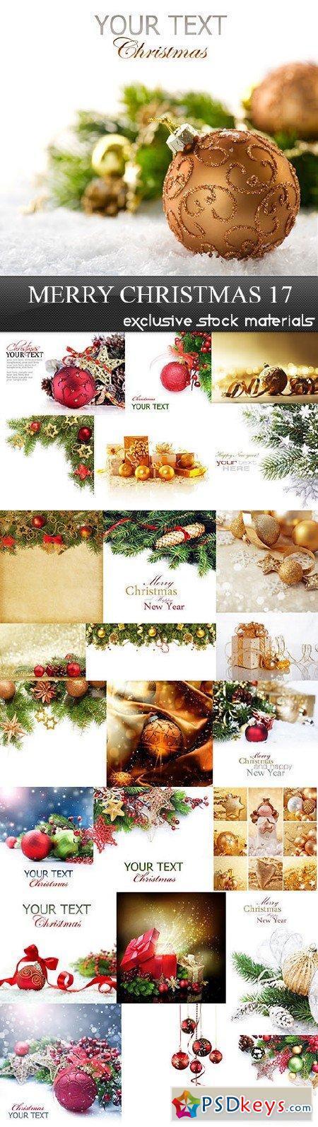 Merry Christmas 17, 25xUHQ JPEG