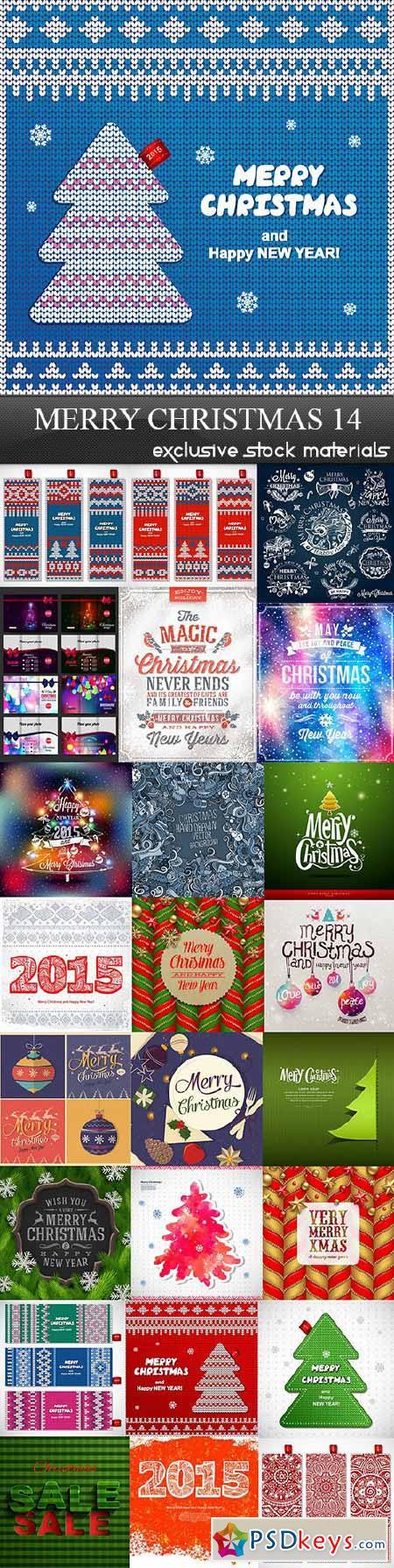 Merry Christmas 14, 25xEPS