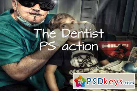 The Dentist - Photoshop action 59133