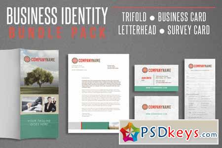Business Identity Bundle Pack 139645