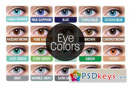 Eye Colors - Photoshop actions 47830
