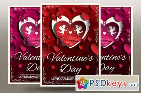 Valentines Day Flyer Template V3 138867