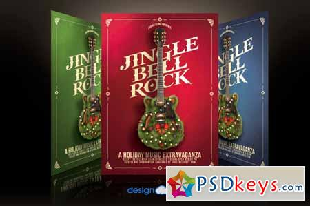 Jingle Bell Rock Flyer Template 136968