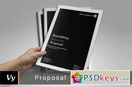 Business Proposal Template 130385 Free Download Photoshop Vector