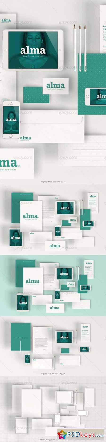 stationary mock up 100162 free download photoshop vector stock