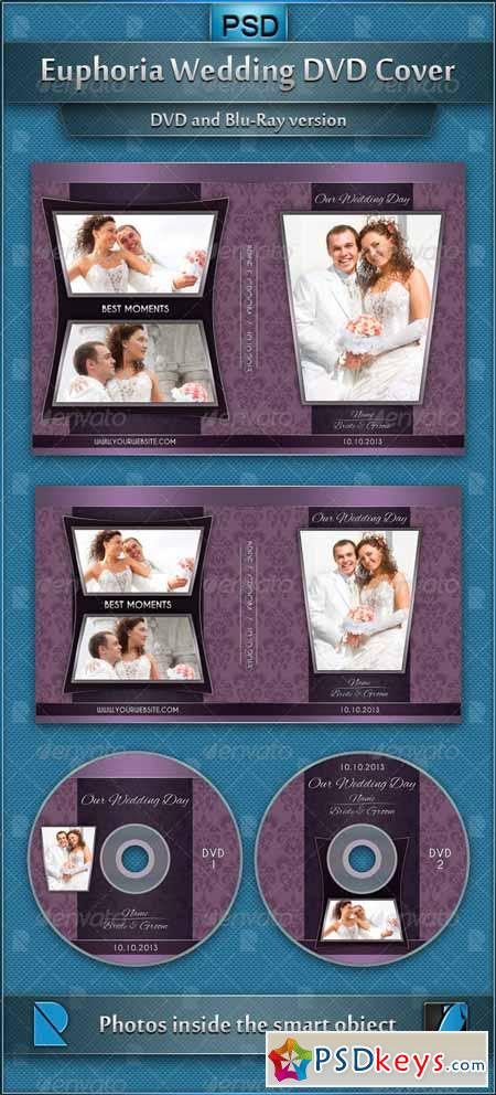 Euphoria Wedding DVD Cover 4307559