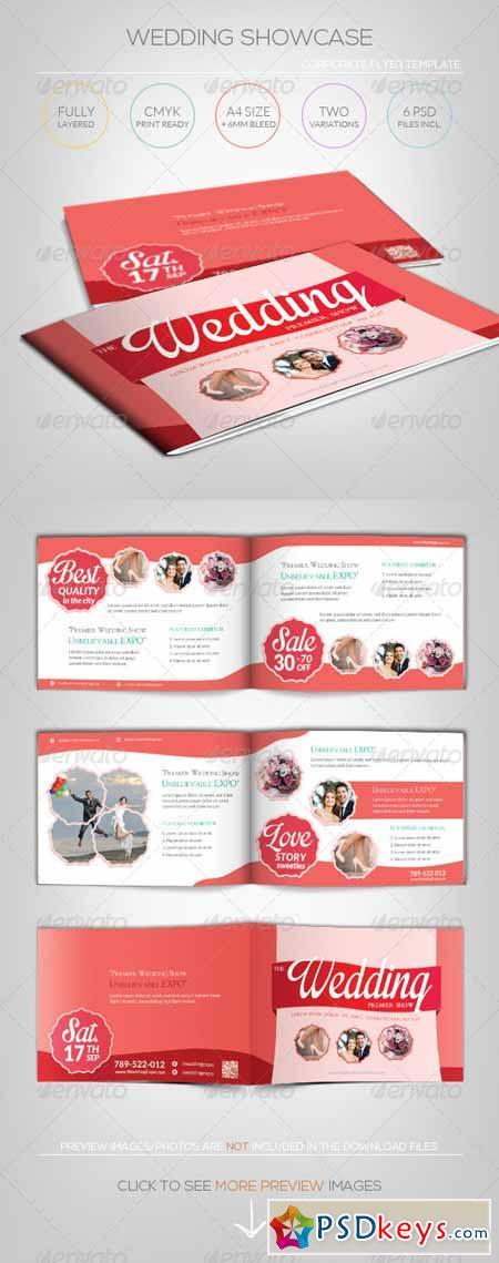 Wedding Showcase - Brochure Template 5347405