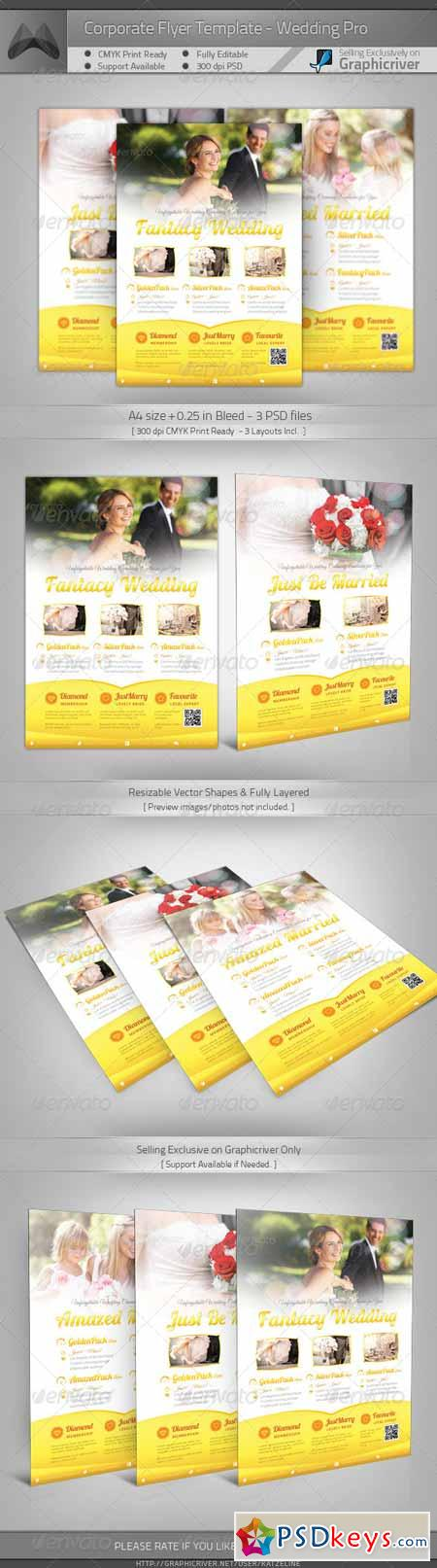 Corporate Flyer - Wedding Pro 4206019
