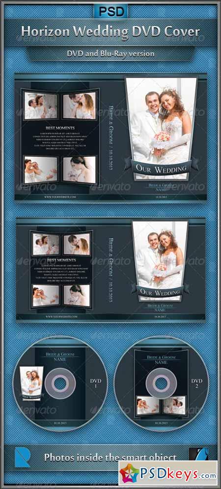 Horizon Wedding DVD Cover 4346720