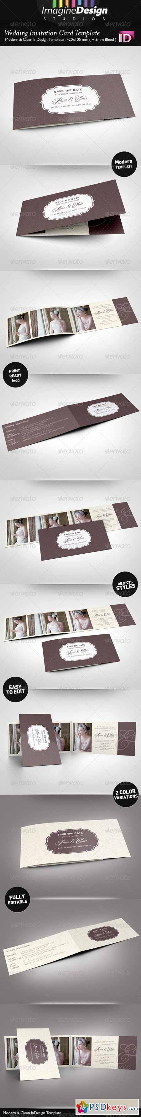 Wedding Invitation Card 5397892