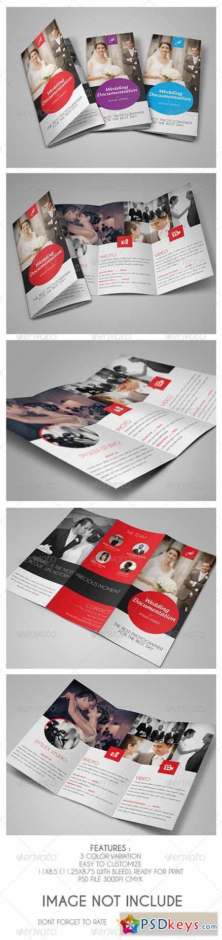 Wedding Documentation Trifold 5445802