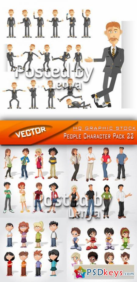 People Character Pack 22