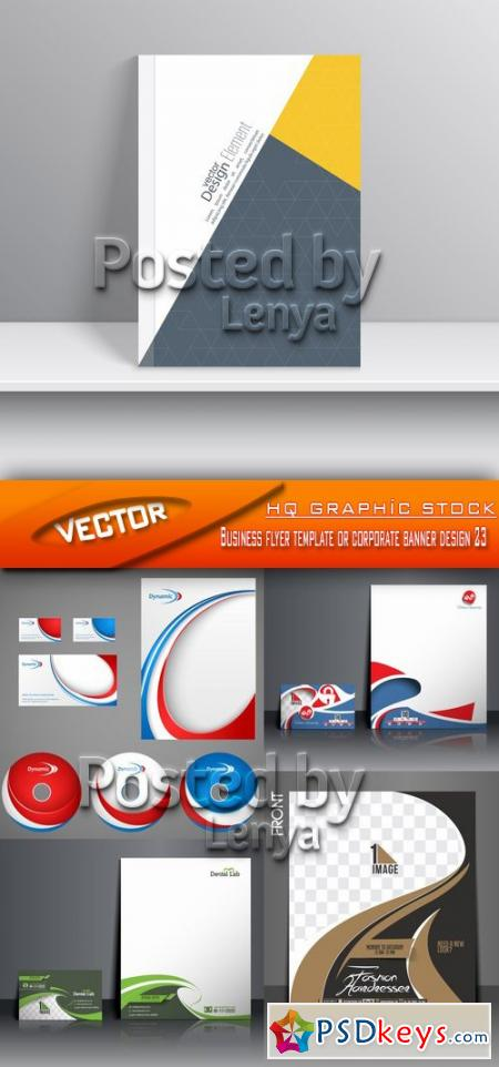 Business flyer template or corporate banner design 23