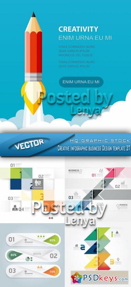 Creative Infographic business Design template 37