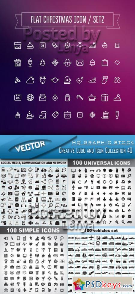Creative Logo and Icon Collection 40