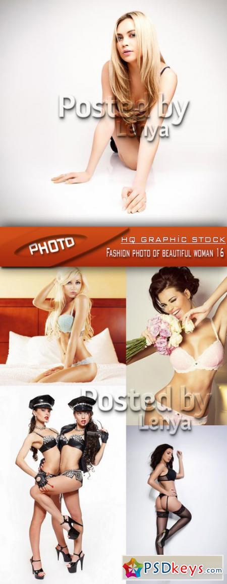 Fashion photo of beautiful woman 16