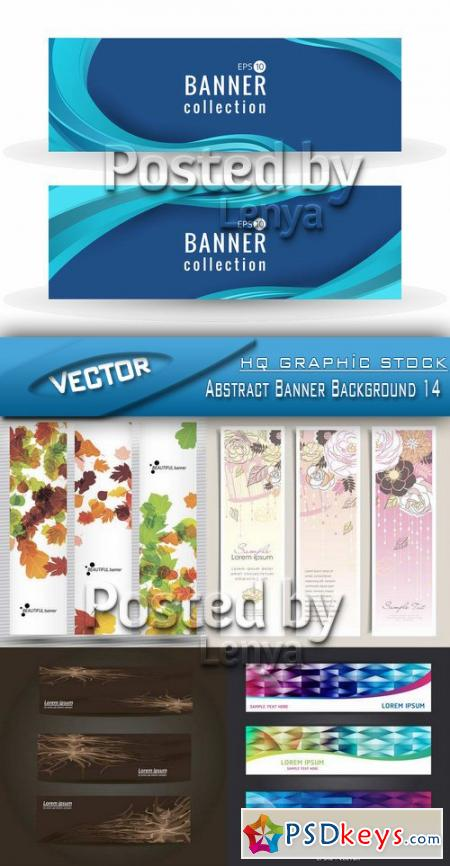 Abstract Banner Background 14