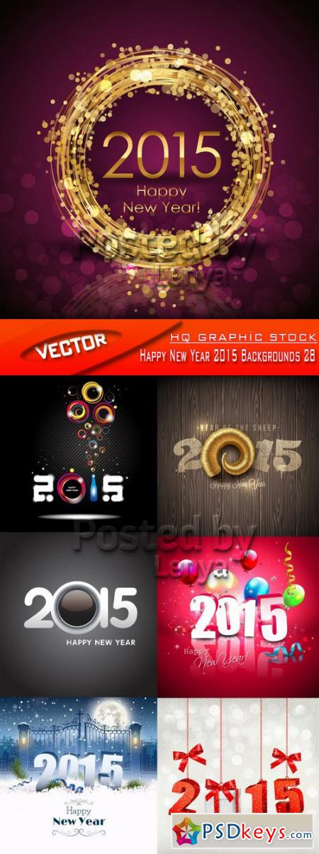 Happy New Year 2015 Backgrounds 28