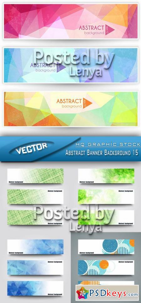 Abstract Banner Background 15