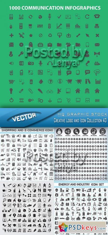 Stock Vector - Creative Logo and Icon Collection 43