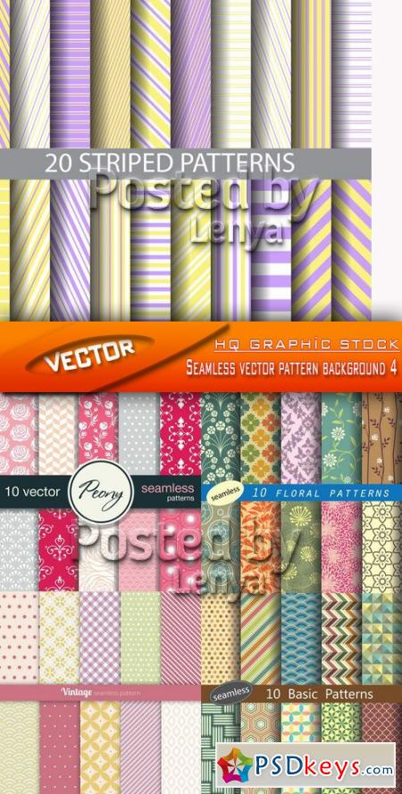 Stock Vector - Seamless vector pattern background 4