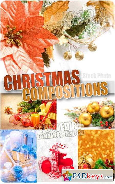 Christmas compositions 9 - UHQ Stock Photo