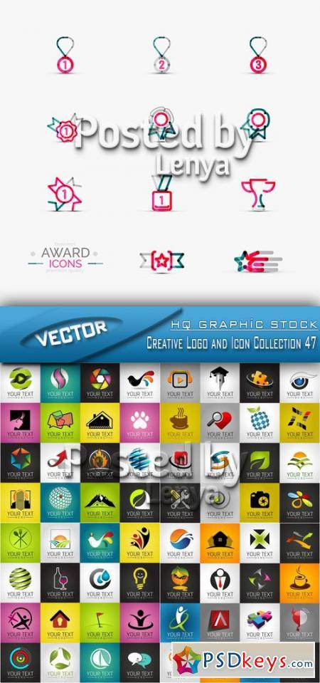 Stock Vector - Creative Logo and Icon Collection 47