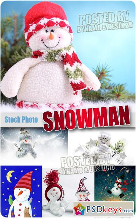 Snowman 2 - UHQ Stock Photo