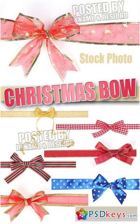 Christmas bows 3 - UHQ Stock Photo