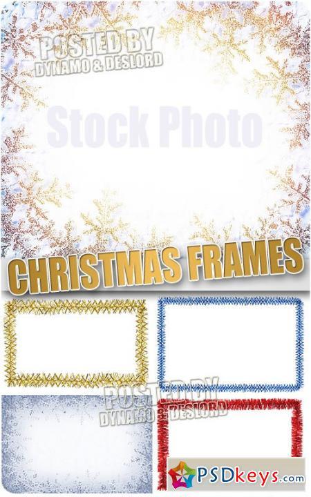 Christmas Frames 7 - UHQ Stock Photo