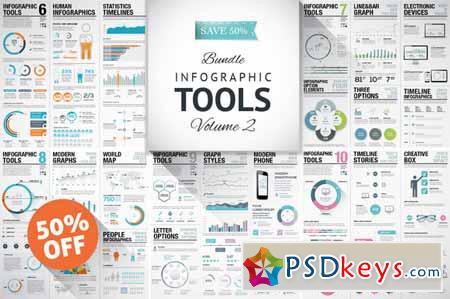 vol. 2 Infographic Elements Bundle 94408 » Free Download Photoshop ...