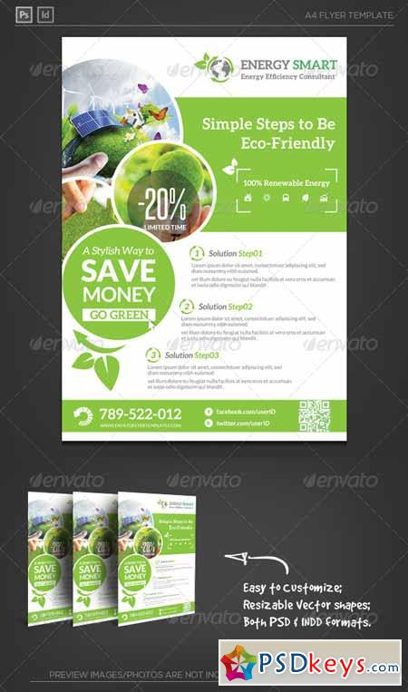 Renewable Energy Saving Flyer 5934345 187 Free Download