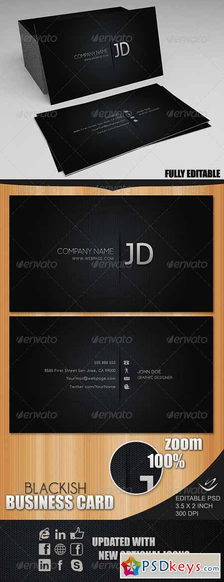 Blackish Business Card 73556