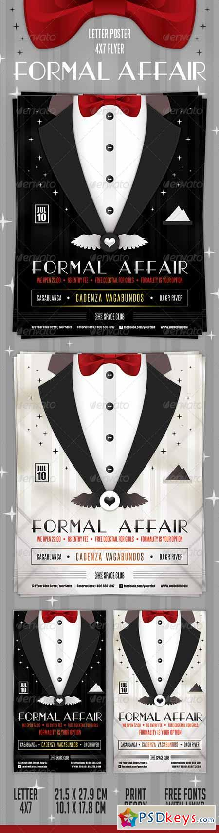 Formal Affair Poster and Flyer 2598528