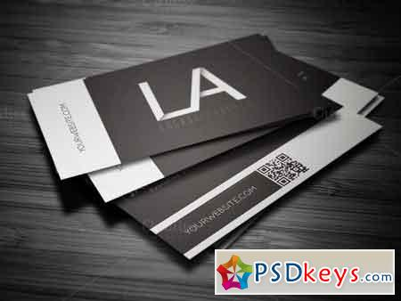 White Line Business Card 64568
