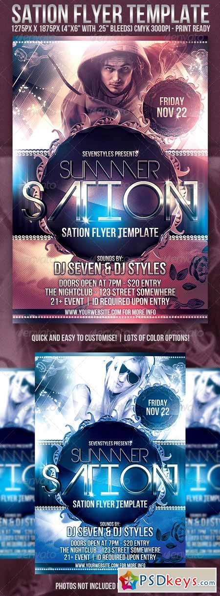 Sation Flyer Template 235988