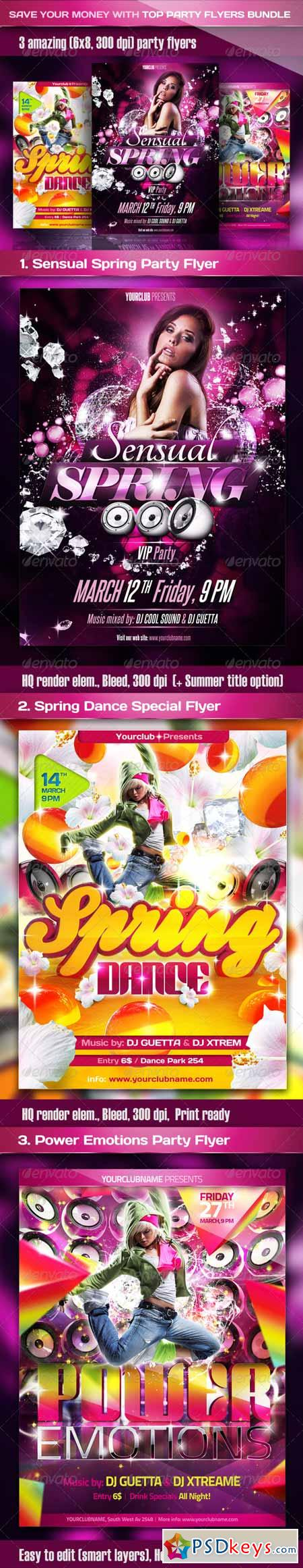 Top Party Flyer Bundle 2232314