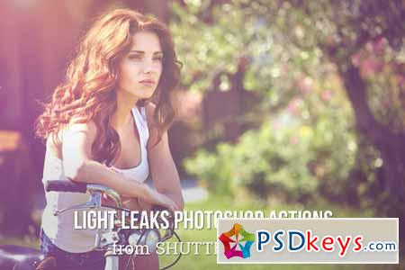 Light Leak Photoshop Actions 141149