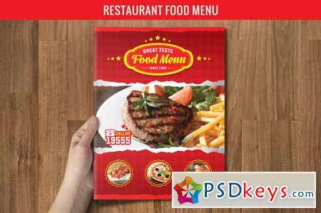 Restaurant food menu 142263