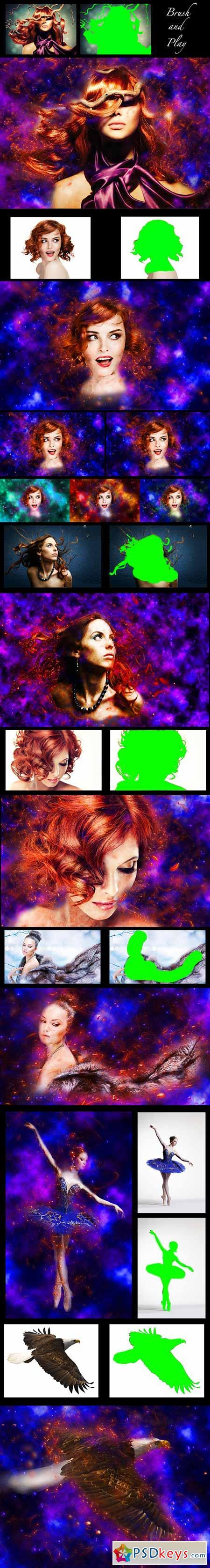 Cosmic Light Brushes - Free Photoshop Brushes at Brusheezy!