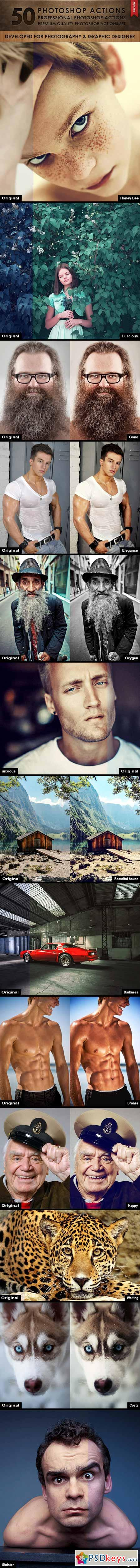 50 Photoshop Actions 9940610