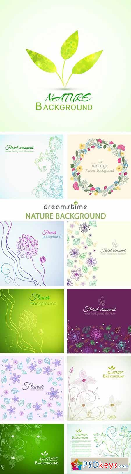Nature Background - 25xEPS