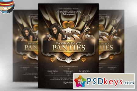 Passion in Yo Panties Valentines PSD 21237