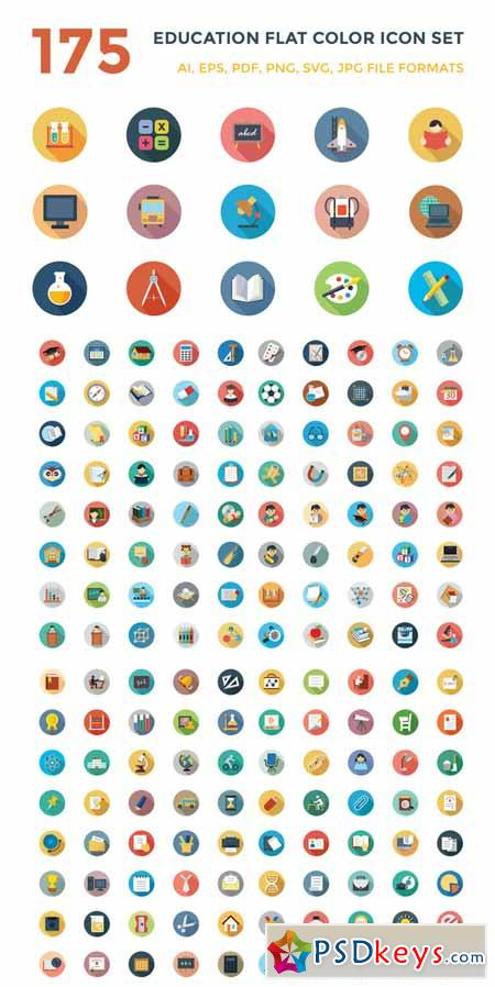Education Icons Vector Free Download 175 Education Vector Icons