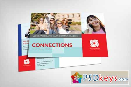Technology Postcard Template 150130