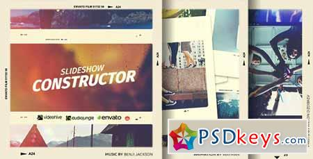 Slideshow Constructor - After Effects Projects