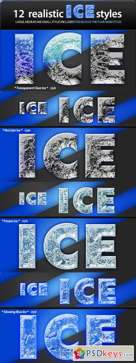 Realistic Ice Styles 4310