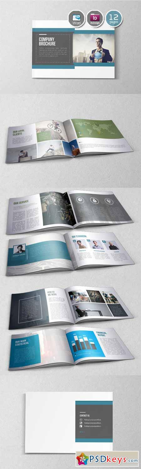 Booklet Brochure Template 141465 Free Download Photoshop Vector