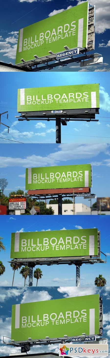 Billboards Mock-Up 155310