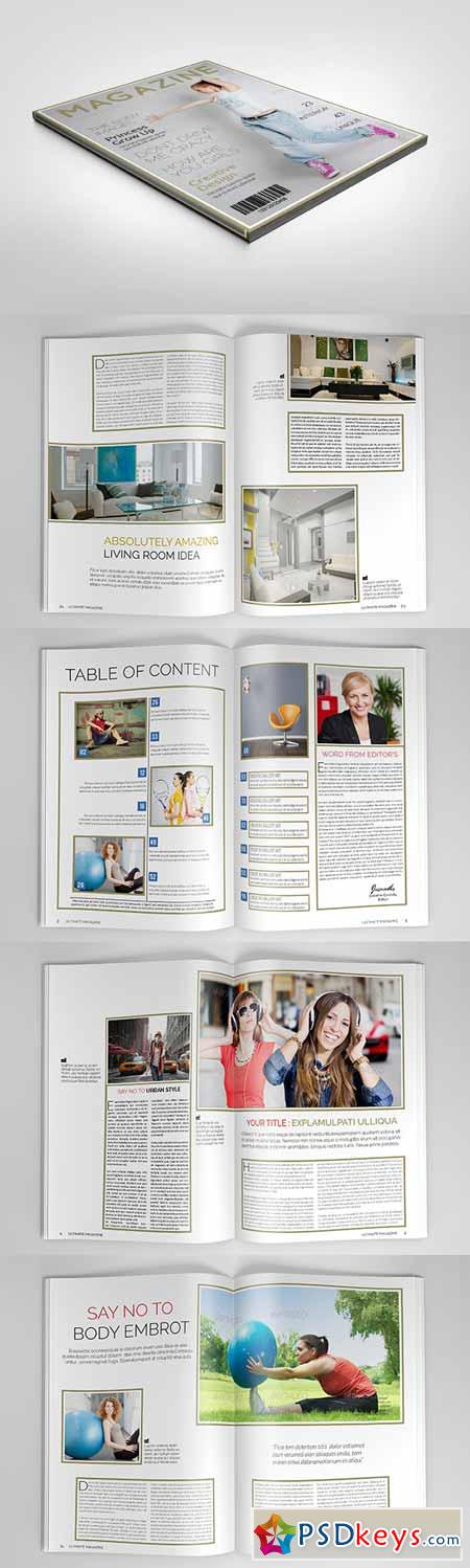 Ultimate Magazine Template 151237